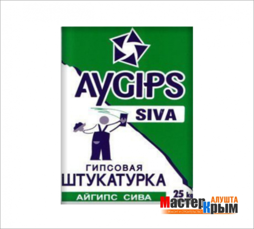 ATISKAN Штукатурка гипсовая Siva(25 кг)