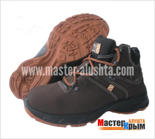 Ботинки Специалист СН/2С111 с комп.подноском кожа/пу