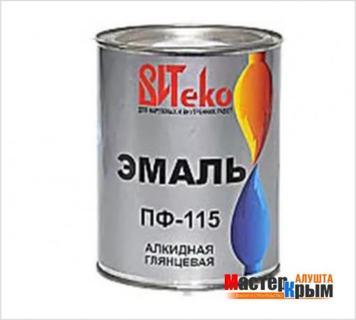Эмаль ПФ115 Витеко 0,8 кг