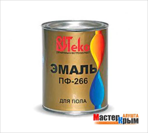 Эмаль ПФ266 Витеко 0,8 кг