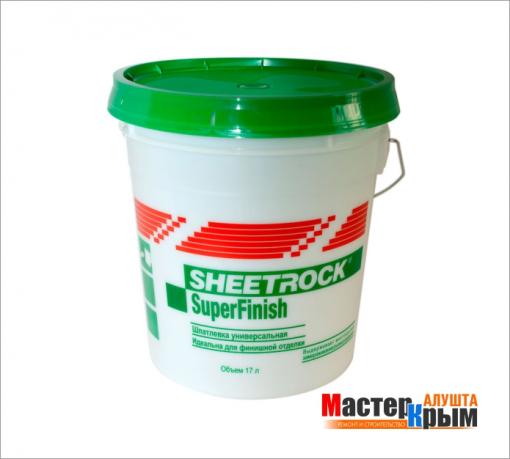 Шпаклёвка гот. SHEETROCK SuperFinish (17л)