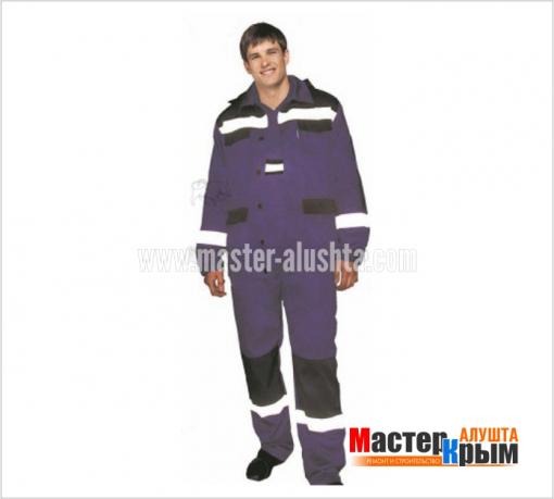 Костюм Газстрой-Анталекс П/К вас/син КОС-304