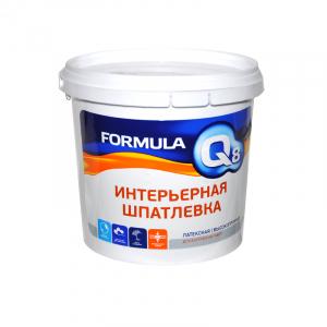 Шпаклевка готовая ФОРМУЛА Q8 16 кг