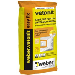 Клей для плитки Ветонит изификс (25кг)