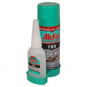 Клей двухкомпонентный Akfix 500 мл + 125 гр
