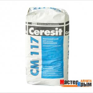 Клей для плитки СМ 117 25 кг