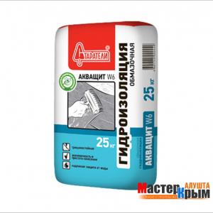 Гидроизоляция обмазочная Акващит W6 25 кг