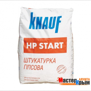 Штукатурка гипсовая КНАУФ-ХП Старт 25 кг