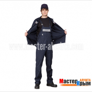 Костюм Плотник-Саржа П/К т.син СОП КОС-207