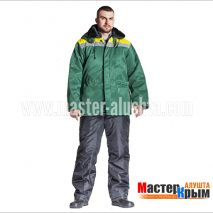 Куртка ут. Бригадир-Анталексзел/желсмесов.ВУ 2-слойный синтепон