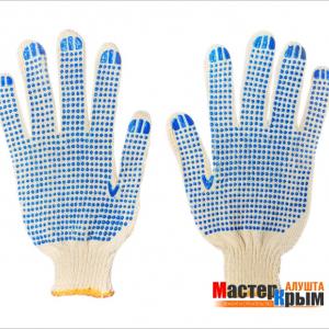 Перчатки вязанные плотные