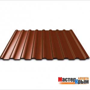 Профнастил (0,45) 1,15*2 коричневый