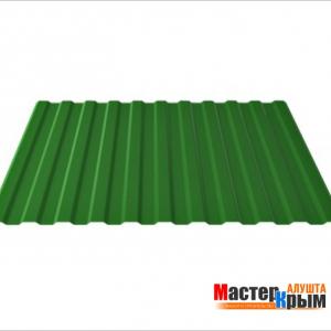 Профнастил (0,45) 1,15*2 зеленый