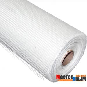 Сетка стеклотканевая для фасадных работ 5ммх5мм 160 гр/м2 (50 м)