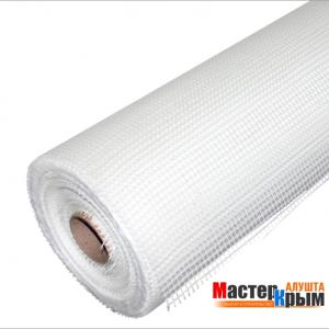 Сетка стеклотканевая для фасадных работ 5ммх5мм  145 гр/м2 (50 м)
