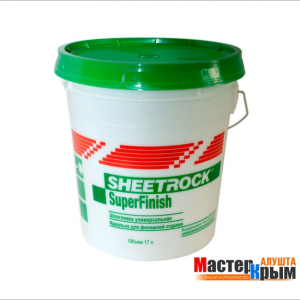 Шпаклёвка гот. SHEETROCK SuperFinish (17л)